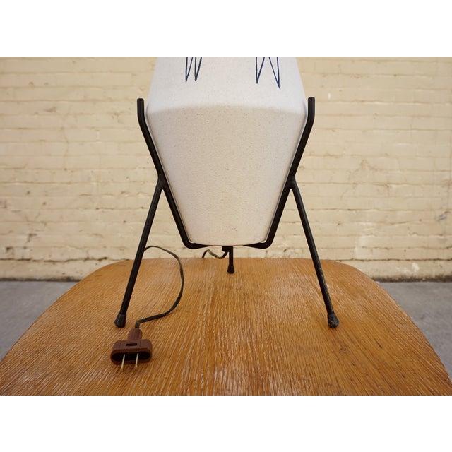 California Modernist Llama Lamp - Image 3 of 6