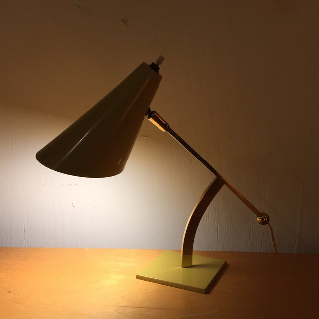Stilux Milano Mustard Table Lamp - Image 3 of 10
