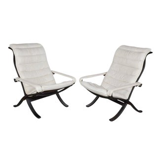 Mid Century Folding Chairs by Ingmar Relling