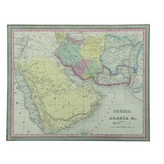 Persia & Arabia Map by Cowperthwait, 1850