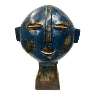 Modern Ceramic Head Sculpture