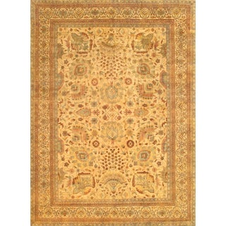 "Pasargad Sultanabad Wool Area Rug - 9' 0"" X 11' 9"""