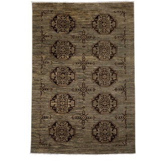 """Ziegler, Hand Knotted Area Rug - 4' 0"""" X 5' 10"""""""