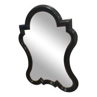 Elegant Black & Gold Mirror