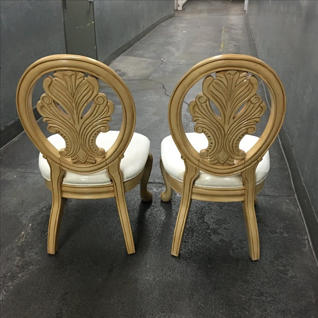 Classical-Style Side Chairs- A Pair - Image 10 of 10