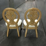 Image of Classical-Style Side Chairs- A Pair