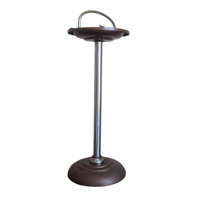 Mid-Century Pedestal Ashtray Stand - Image 1 of 7