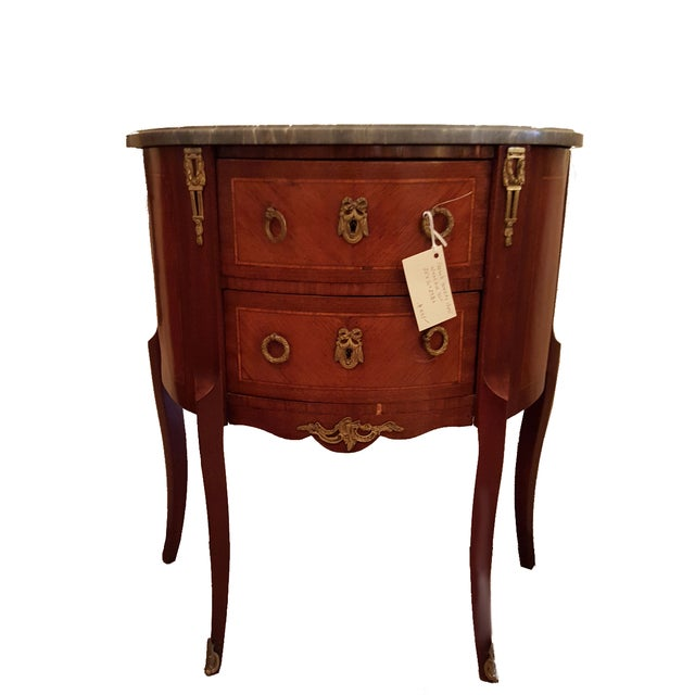 French Louis XVI Style Chest of Drawers/Nightstand - Image 1 of 5