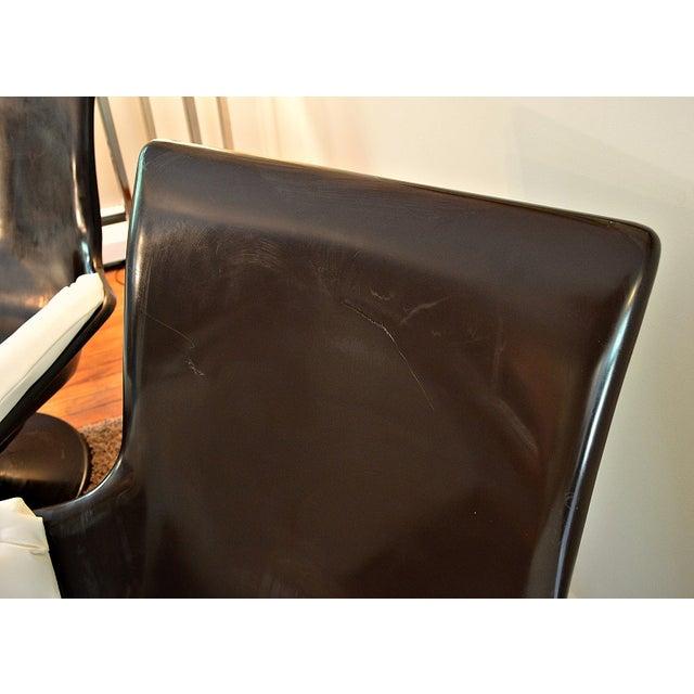 Decorian Swivel Tulip Base Chairs - Set of 3 - Image 8 of 11