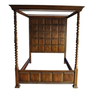 Henredon Queen Canopy Bed