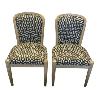 J. Robert Scott Upholstered Accent Chairs- A Pair