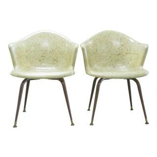 Mid-Century Fiberglass Chairs - A Pair