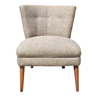 Kroehler Grey Tweed Side Chair