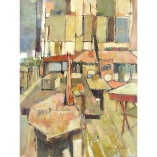 "Audrey Salkind ""Art Class"" Original Painting"