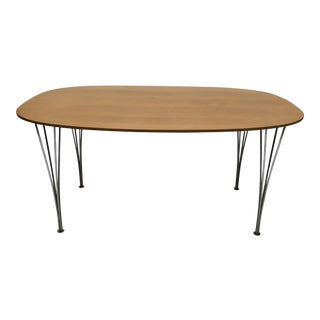 Vintage Fritz Hansen Super Ellipse Dining Table