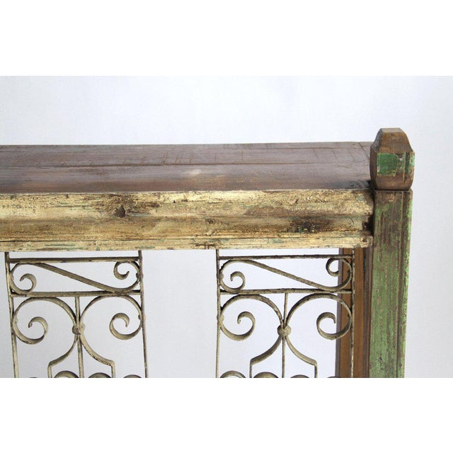 Image of Iron Balcony Console Table