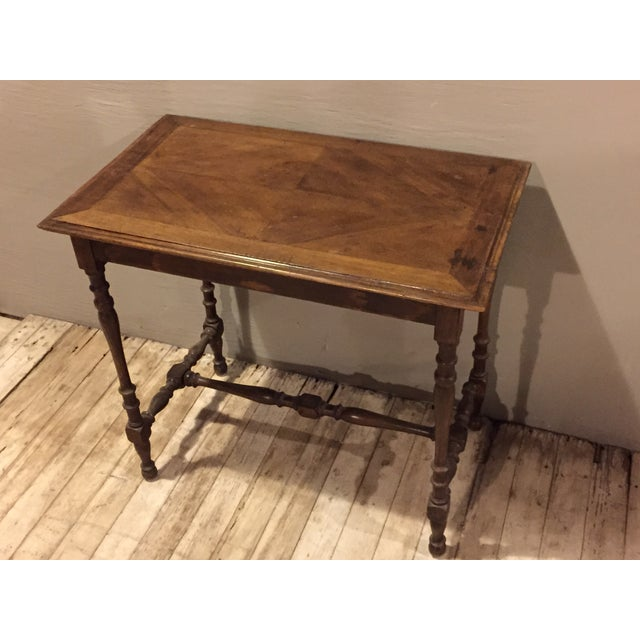 Antique 1880s Directoire Table with Carved Legs - Image 6 of 6