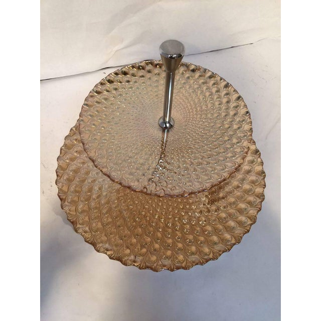 Image of Gold Glam Double Decker Serving Dish