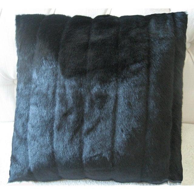 Faux Mink Decorative Pillow - Image 3 of 3