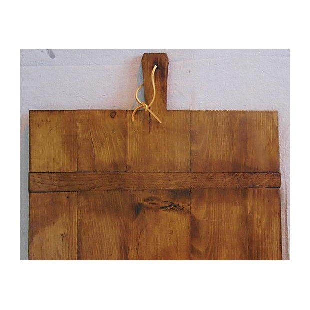 Large Antique French Bread Cutting Culinary Board - Image 4 of 5