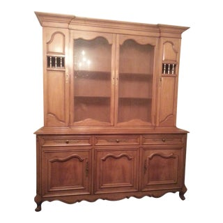 Country French Provinical China Closet