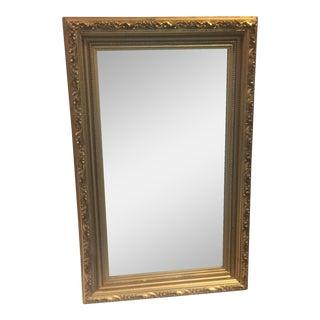 Vintage Gold Gilded Mirror