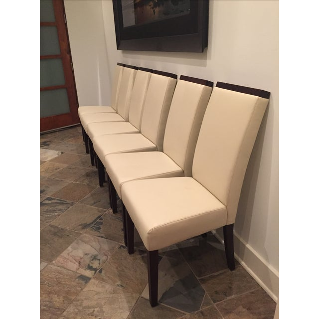 Contemporary Dining Chairs - Set of 6 - Image 3 of 5