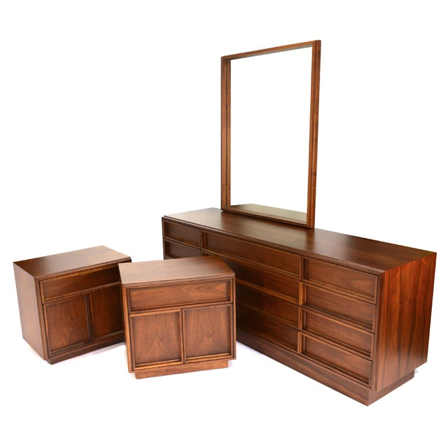 Image of Bedroom Set by John Keal for Brown Saltman