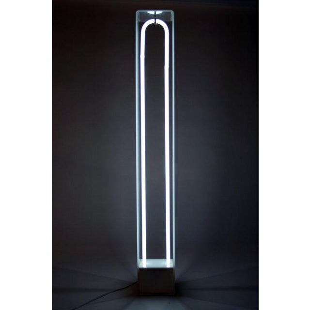 "Image of ""U Tube Light"" Sculpture by Christopher Sproat"