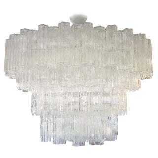 Venini Tubu Irregulare Ceiling Light