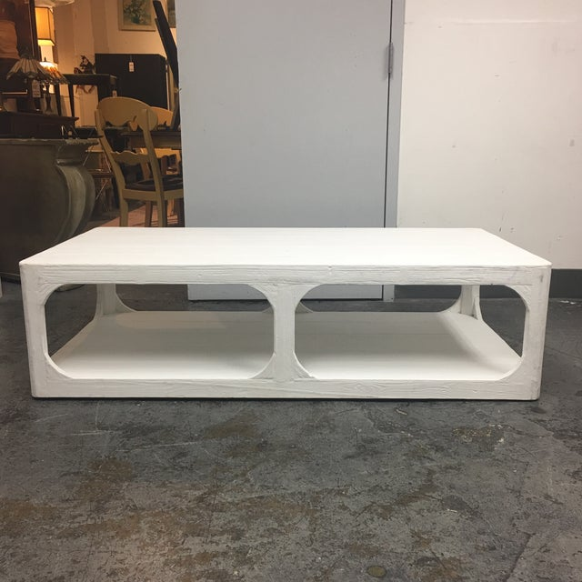 Dovetail White Shabby Chic Coffee Table - Image 2 of 9