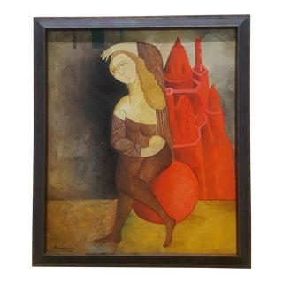 Anas Havan Surrealist Lady