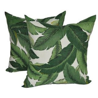 Tommy Bahama Swaying Palms Pillows - a Pair