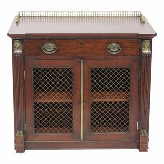 Antique 19th C. Regency Style 2-Door Cabinet