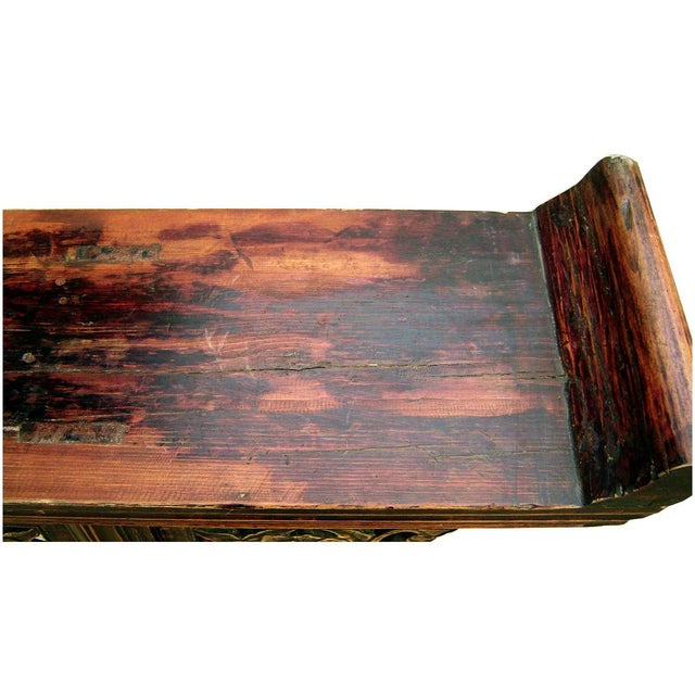 Antique 1800s Chinese Altar Table - Image 4 of 5
