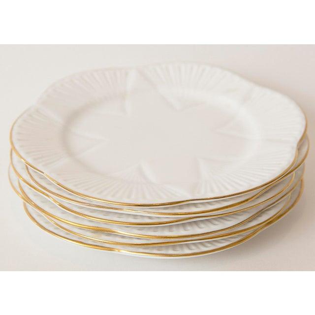 Vintage Shelley Fine Porcelain Dessert Plates -S/6 - Image 4 of 9