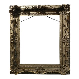 19th Century Carved Gilt Wood Frame