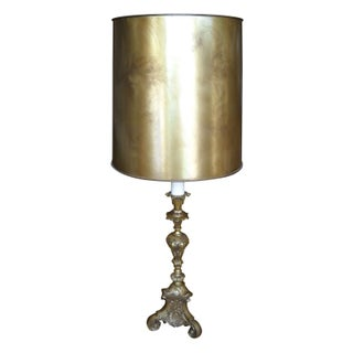 Gold & Brass Table Lamp