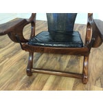 Image of Don Shoemaker Studio Rosewood Swing Chair