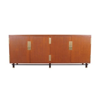 Mid Century Teak Credenza by Michael Taylor for Baker
