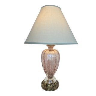Venetian Art Glass Table Lamp