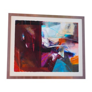 Modern Abstract Lithograph