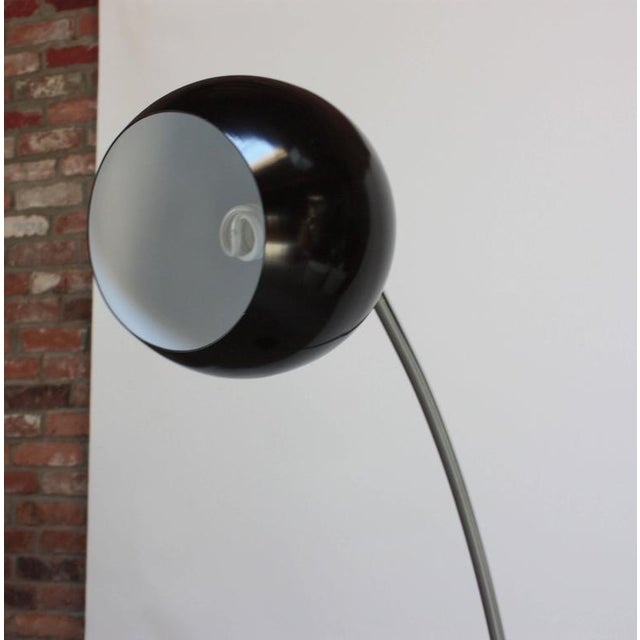 Fully Adjustable Vintage Arching Floor Lamp - Image 4 of 9