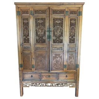 Ornate Chinese Cabinet