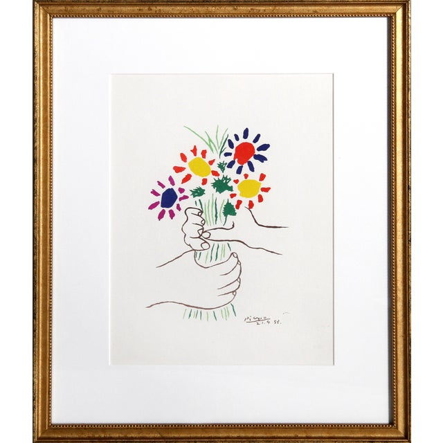 Pablo Picasso Offset Lithograph - Le Bouquet - Image 1 of 3