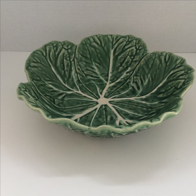 Green Lettuce Ware Bowl - Image 3 of 6