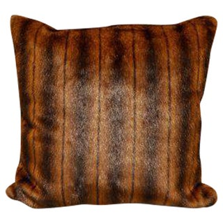 Handcrafted Faux Fur Pillow