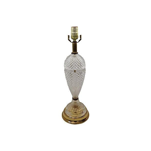 Italian Diamond Point Table Lamp - Image 4 of 5