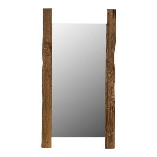 Sarreid Ltd Reclaimed Wood Beam Mirror
