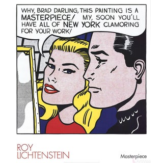 Roy Lichtenstein Masterpiece 2004 Poster